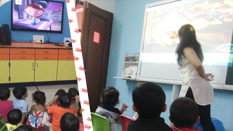 Technology in Preschool – Smart Class, Audio Visual Class